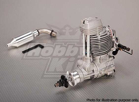СКРЕСТ / СТОМАТОЛОГИЯ - ASP FS120AR Four Stroke Glow двигателя