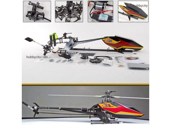 SJM 500-Pro Kit 80% преднастроенным ж / BL Motor & ESC
