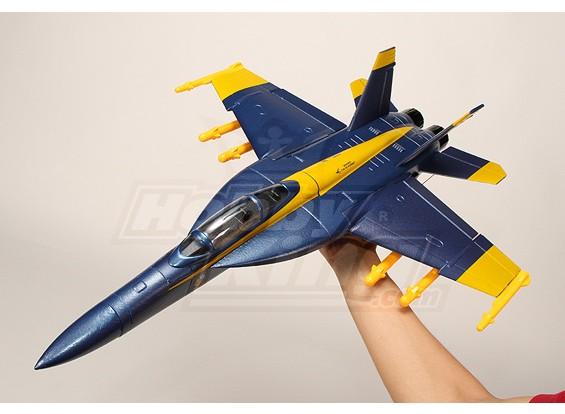 Мини F-18 EDF истребитель EPO (ПНФ)
