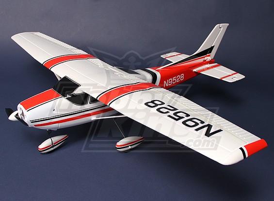 Легкий самолет 182 ж / ESC, двигатель и сервоприводы подключи и Fly Deluxe Version