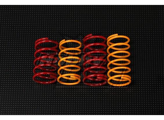 QRF400 задние амортизаторы комплект пружин (37мм х 19.5mm)