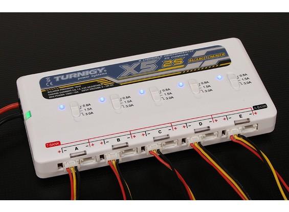 Turnigy 2S X5 5 порт Литий-полимерный аккумулятор зарядное устройство