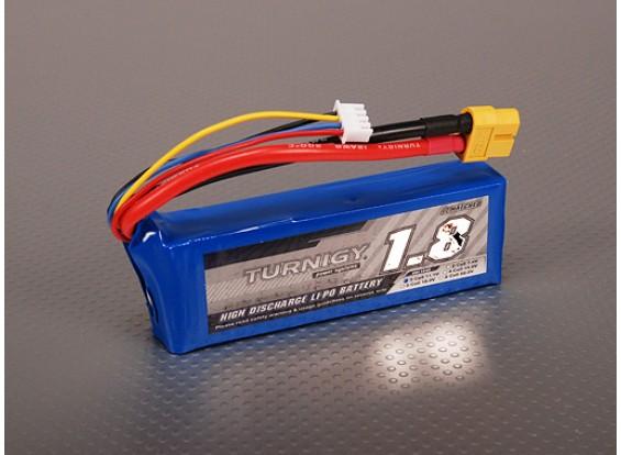 Turnigy 1800mAh 3S 40C Lipo обновления