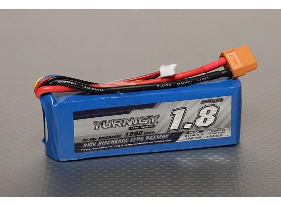 Turnigy 1800mAh 3S 30C Lipo обновления