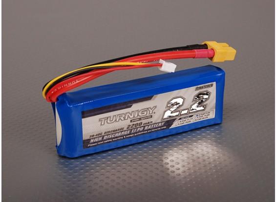 Turnigy 2200mAh 2S 30C Lipo обновления
