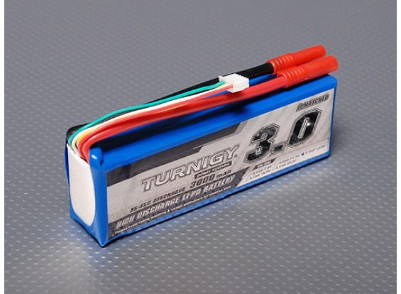 Turnigy 3000mAh 4S 35C Lipo обновления