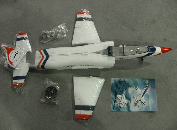 СКРЕСТ / СТОМАТОЛОГИЯ T-38 Talon 650мм EDF струи (AUS Склад)
