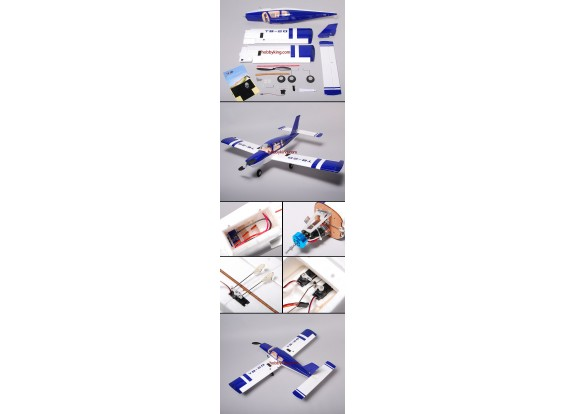 TB-20 Электрический Самолет Включите серво / ESC / двигателя