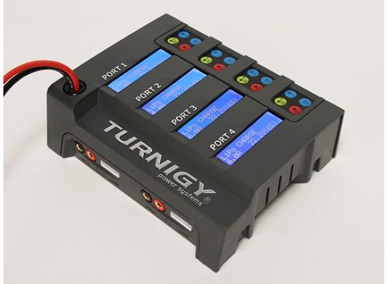 Turnigy 4x6S Литий-полимерный аккумулятор зарядное устройство (корпус только)