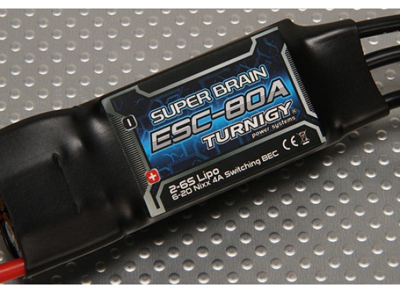 Turnigy Супер Brain 80A Brushless ESC