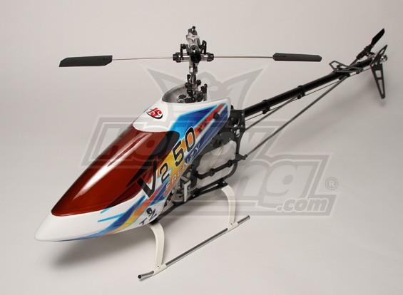 TZ-V2 .50 Размер Nitro 3D Вертолет Kit (Torque Tube)