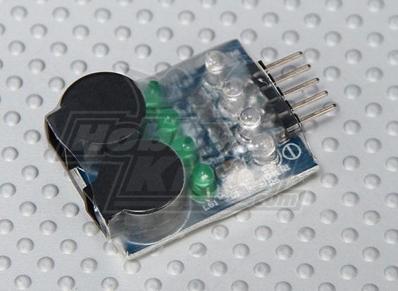 Alarm HobbyKing ™ LiPoly Low Voltage (2s ~ 4s)