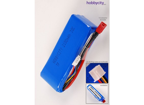 HobbyCity 2100 3S1P 20-30C 3-Pack