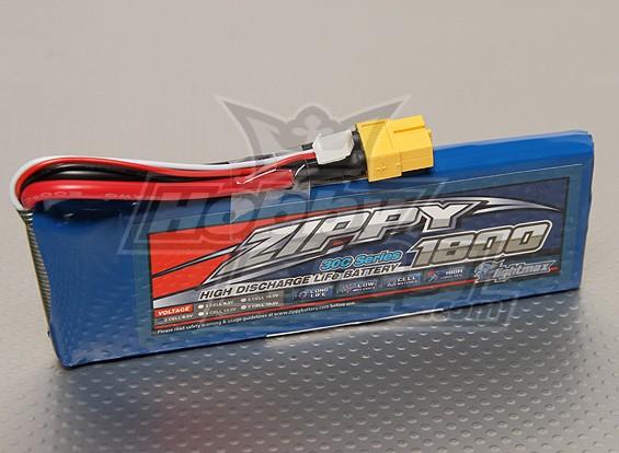 ZIPPY Flightmax 1800mAh 2S1P 30C LiFePo4 пакет