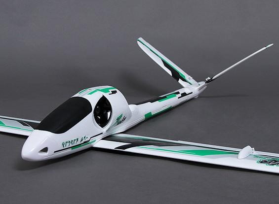 Durafly ™ Zephyr V-70 EDF V-Tail Glider ж / 70mm EDF / Мотор 1533mm (ARF)