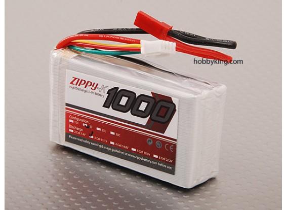 Zippy-K 1000 3S1P 20C Lipo пакет