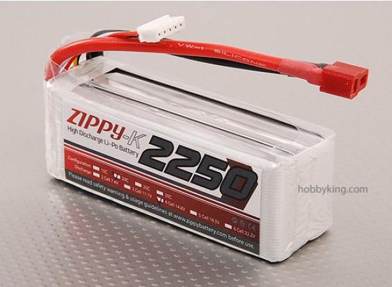 Zippy-K 2250 4S1P 20C Lipo пакет