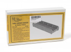 Micro Engineering HO Scale 50ft Single Track Through Girder Bridge Kit (75-520)