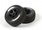 ЛУИЗА SC-HUMMER 1/10 Масштаб Грузовик Передние шины Soft Соединение / Black Rim / Навесные
