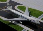 Gemini Jets Scandinavian Airlines Boeing 747-200 N4501Q 1:400 Diecast Model GJSAS179