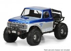 Pro-Line 1/10 Шкала 1966 Ford F-100 Clear Body для Monster Trucks / Rock Crawlers