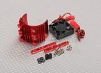 Мотор радиатора ж / вентилятора Красный алюминиевый (36мм)