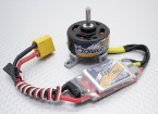 HobbyKing ™ Осел ST3007-1100kv Brushless Power System Combo