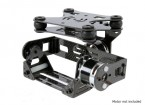 Амортизирующие 2 Axis Brushless Gimbal для DJI Phantom - Carbon Fiber Версия
