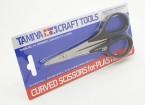 Tamiya Изогнутые ножницы для пластической