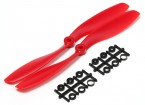 Turnigy Slowfly Пропеллер 8x4.5 Красный (CW) (2 шт)