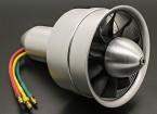 Сплав DPS 64mm 10 лезвия Электрический вентилятор Канальные Assembley 3300Kv