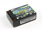Turnigy нано-технологий Окончательный 2600mah 2S2P 90C Hardcase Липо Супер Коротышка Pack (грохотом и BRCA Approved)