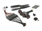 LDPOWER D250-1 Multicopter Система питания 2204-2300kv (6 х 3) (4 шт)