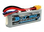 Turnigy 1800mAh 3S Болт 11.4V 65 ~ 130C высокого напряжения LiPoly Pack (LiHV)