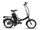 Electric Folding Bike Unfolded view