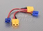 XT60 к EC2 Лози зарядки адаптер (2 шт / мешок)