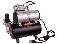 1/6HP Air Compressor With Air Tank 3L - EU Plug