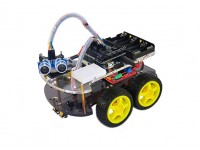 Kingduino 4WD Ultrasonic Robot Kit
