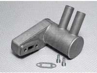 Питтс Глушитель для 20cc газового двигателя