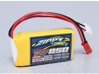 ZIPPY Компактный 850mAh 2S 25C Lipo обновления