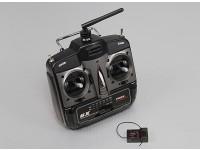 Turnigy 6X FHSS 2.4GHz передатчик и приемник (режим 1)