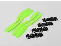 8045 SF Реквизит 2рс CW 2 шт вращение против часовой стрелки (зеленый)