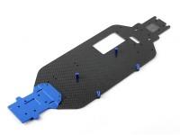 Тарелка углеродного волокна Шасси - 1/10 Quanum Вандал 4WD Гонки Багги