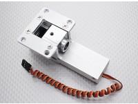 Все металлы Servoless 90 градусов Отвод для больших моделей (10 ~ 12кг)