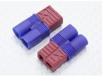 EC3 лидировать T-разъем адаптера батареи (2pc)