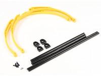 M200 Краб ноги Шасси Набор DIY (желтый)