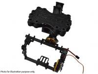 GH2 3 Сторм глаз Бесщеточный Gimbal Полный комплект Carbon / (Mini DSLR)