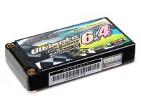 Turnigy нано-технологий Окончательный 6400mAh 1S2P 90C Hardcase Pack (ЕДОР & BRCA Approved)