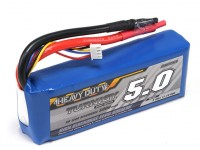 TURNIGY Heavy Duty 5000mAh 3S 60C Lipo обновления