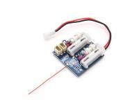 2.4Ghz SuperMicro Systems - DSM2 совместимый приемник ж / Матовый ESC, линейный сервоприводов